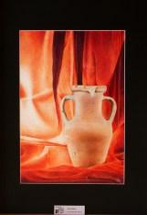 Iosto Mura - penne biro multicolori su cartoncino bristol, cm 35x50