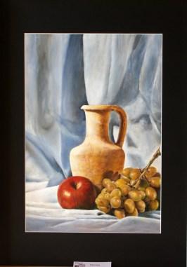 Piero Usai - olio su cartone telato cm 35x50