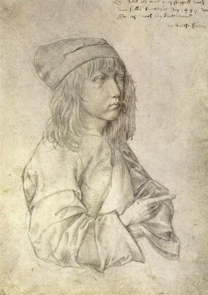 Dürer, autoritratto a punta d'argento realizzato a tredici anni