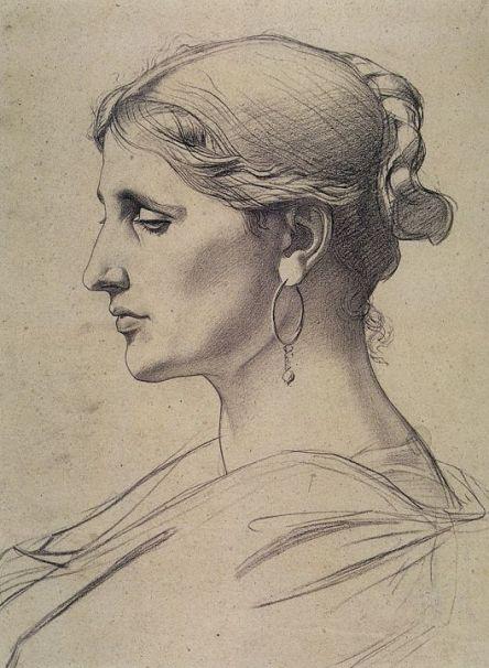un disegno di Bouguereau