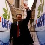Prodi nel 1996 dopo la vittoria dell'Ulivo alle elezioni politiche