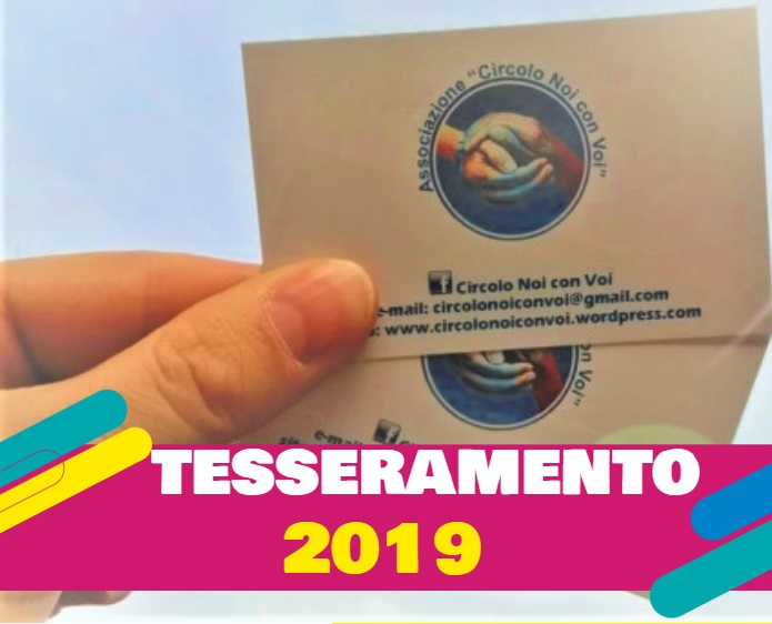 Tesseramento 2019