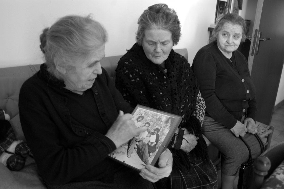 Rita e Armede Benedetti e Ilva Piccini