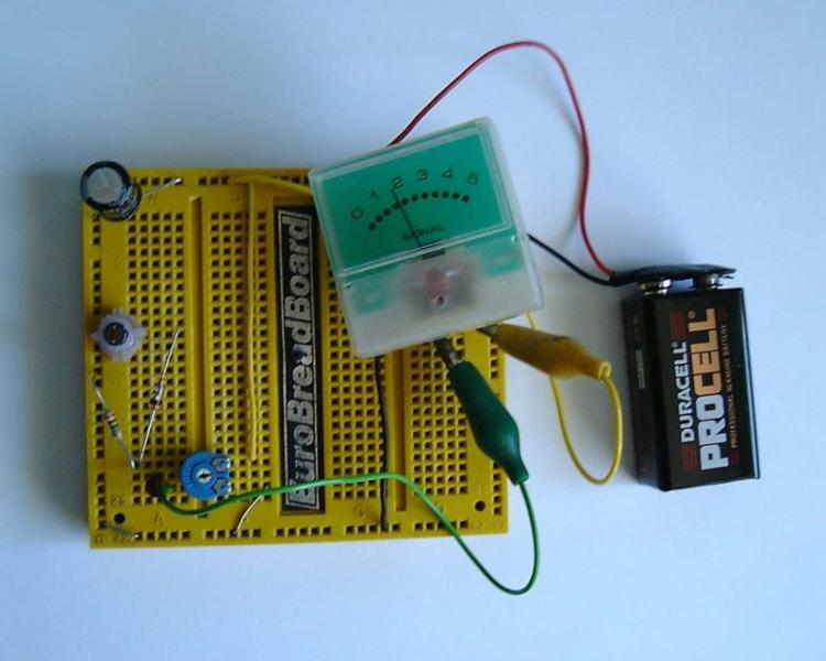 Suitable For Am Reception And As A Simple Radio Project This Circuit