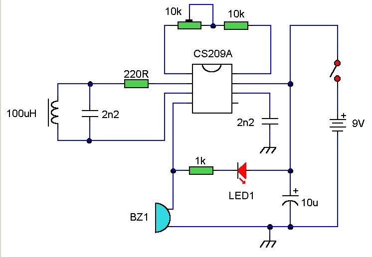 And For Light Switch With Motion Detector Wiring Diagram Metal Detector