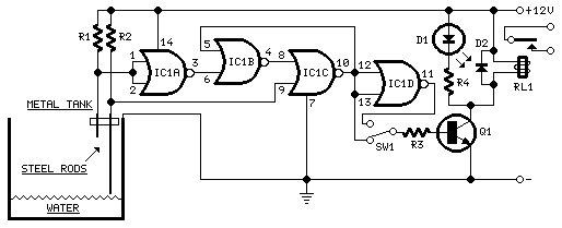 Water Pump Relay Control