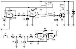 Sound generator circuit diagrams