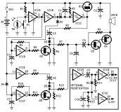 Sound generator and oscilator circuit diagrams