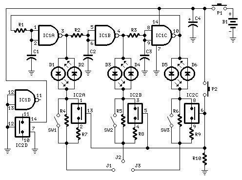 E-B-C Transistor Pin Identifier