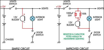 87 Chevy R10 Wiring Diagram How To Build Simple Headlight Reminders Circuit Diagram