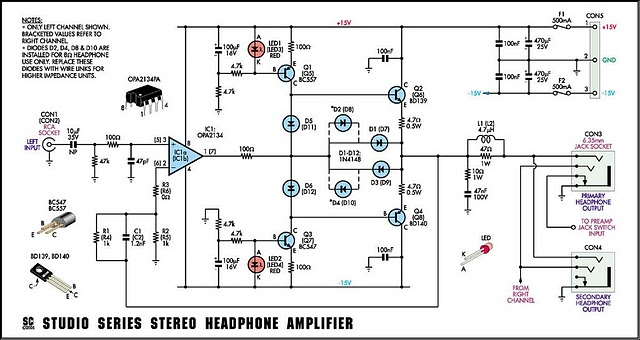 How to build Studio Series Stereo Headphone Amplifier