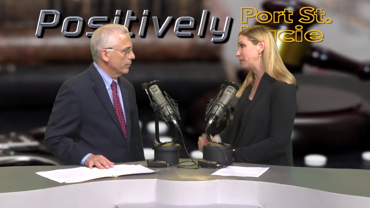 Judge Levin is interviewed about Opioids and Drug Court in this edition of Positively Port St. Lucie   19th Judicial Circuit Court of Florida