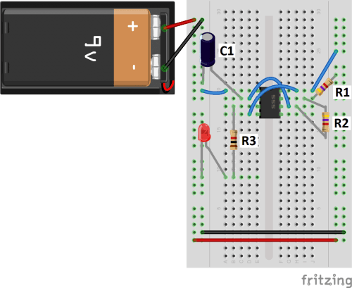 small resolution of 555 timer basics astable mode