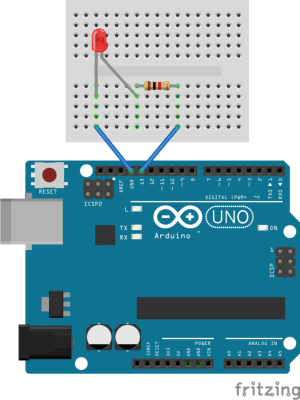 Getting Started with the Arduino  Controlling the LED