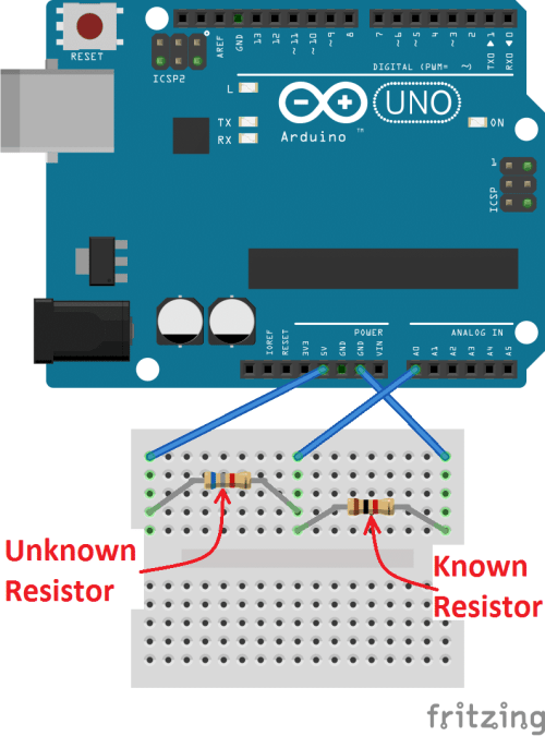 small resolution of how to make an arduino ohm meter