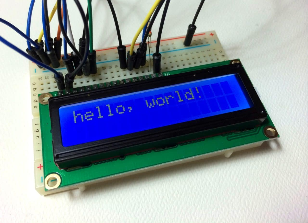 hight resolution of lcd display options
