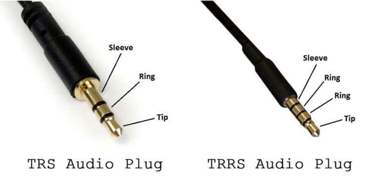 TRS vs TRRS Audio Plugs