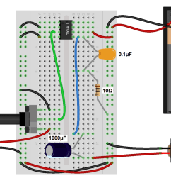 build a great sounding audio amplifier with bass boost from the lm386 channel amplifier and speaker setup circuit schematic electronics [ 1280 x 820 Pixel ]