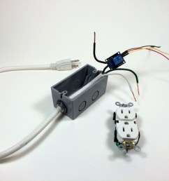 build an arduino controlled power outlet before wiring the electrical outlet [ 1024 x 768 Pixel ]