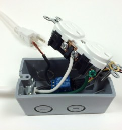 build an arduino controlled power outlet attaching the neutral electrical wire [ 1024 x 768 Pixel ]