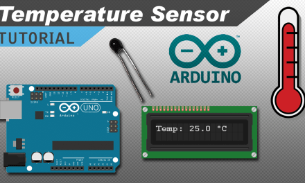 [VIDEO] How to Make a Temperature Sensor with an Arduino and a Thermistor