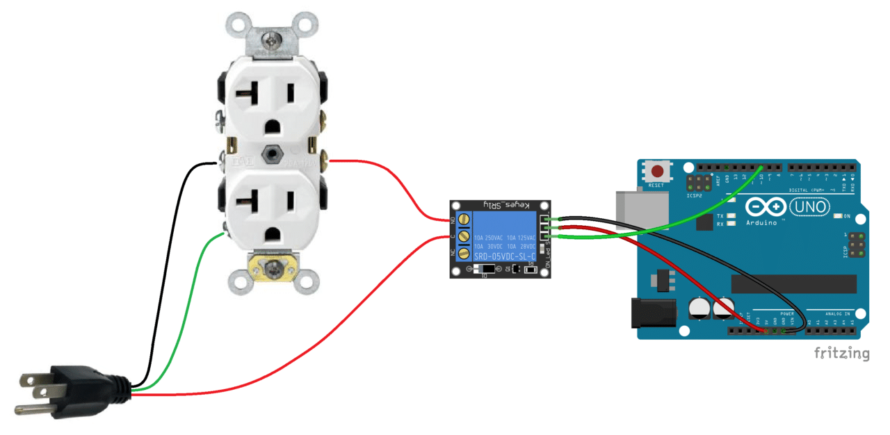 Power Outlet Relay Switch