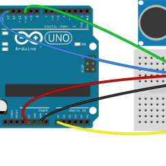 Ultrasonic Motion Detector Circuit Diagram Frigidaire Dryer How To Set Up An Range Finder On Arduino Check Out Our Article Thermistor Temperature Sensor Tutorial Here Is A Help You Add Your