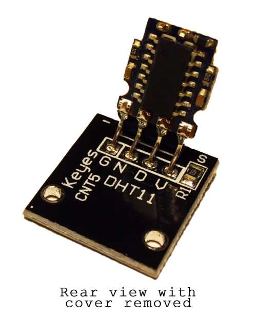 small resolution of the dht11 uses just one signal wire to transmit data to the arduino power comes from separate 5v and ground wires a 10k ohm pull up resistor is needed