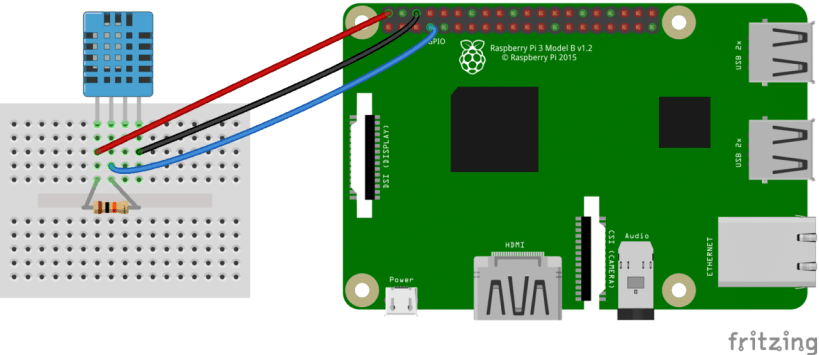 How to Setup the DHT11 on the Raspberry Pi - Four pin DHT11 Wiring Diagram