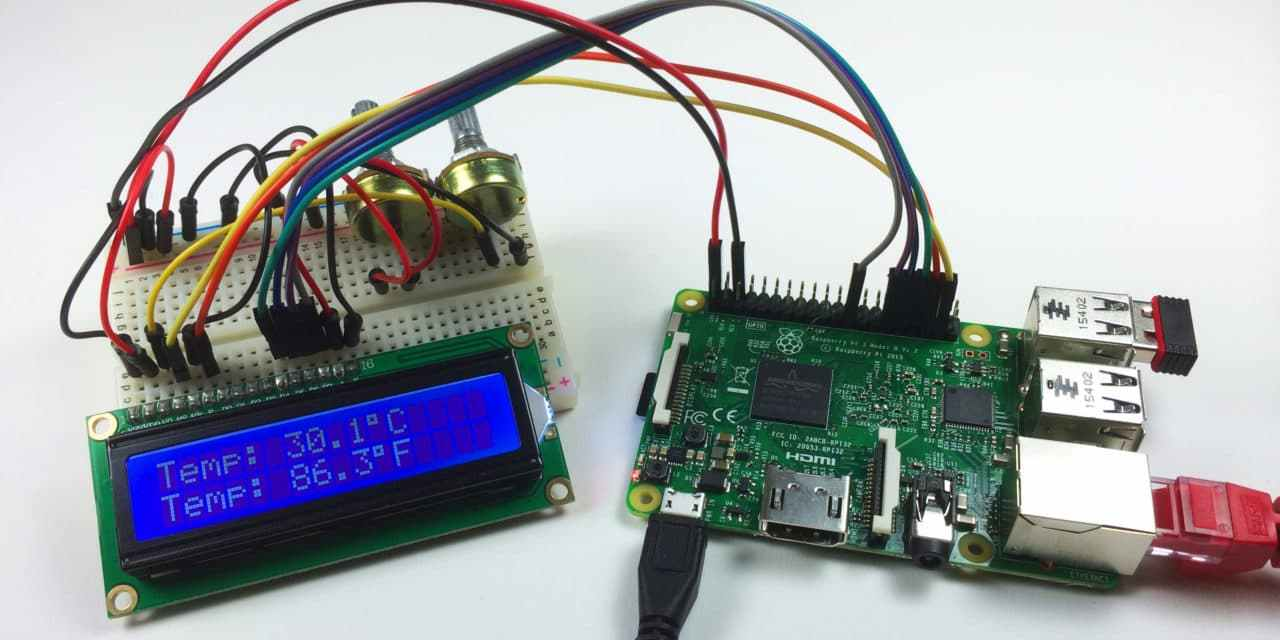How to Setup an LCD on the Raspberry Pi and Program it With C