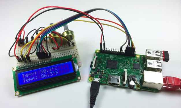Raspberry Pi LCD Set Up and Programming in C With WiringPi