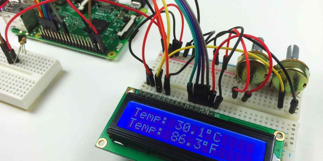 How to Setup an LCD on the Raspberry Pi and Program It With Python