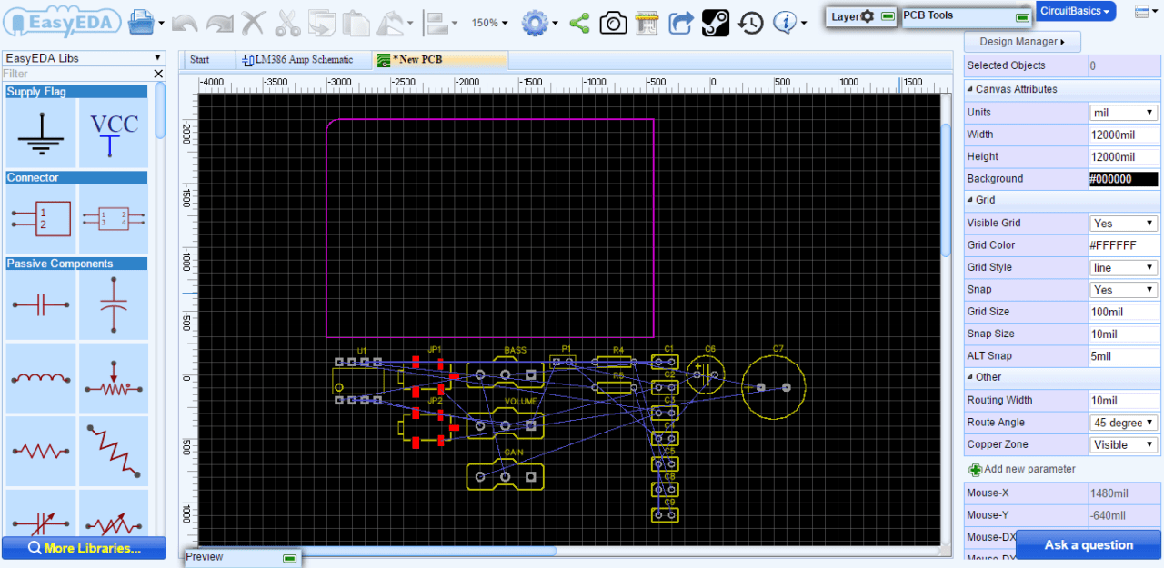 hight resolution of ratsnest lines are virtual wires that represent the connections between components they show you where you need to route the