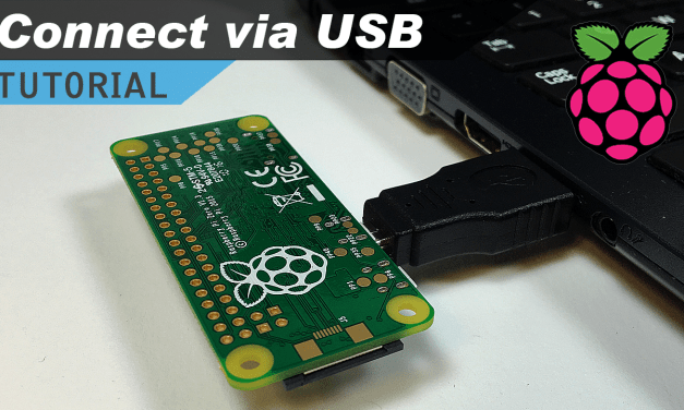 [VIDEO] Raspberry Pi Zero USB/Ethernet Gadget Tutorial