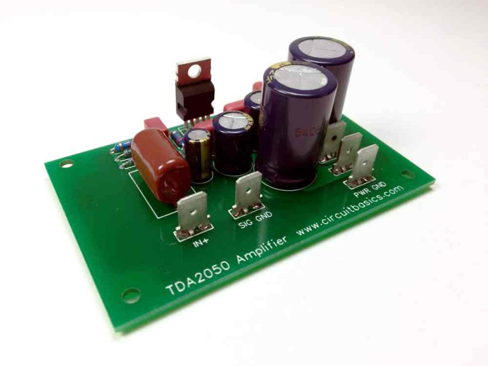 medium resolution of how to design and build an amplifier with the tda2050