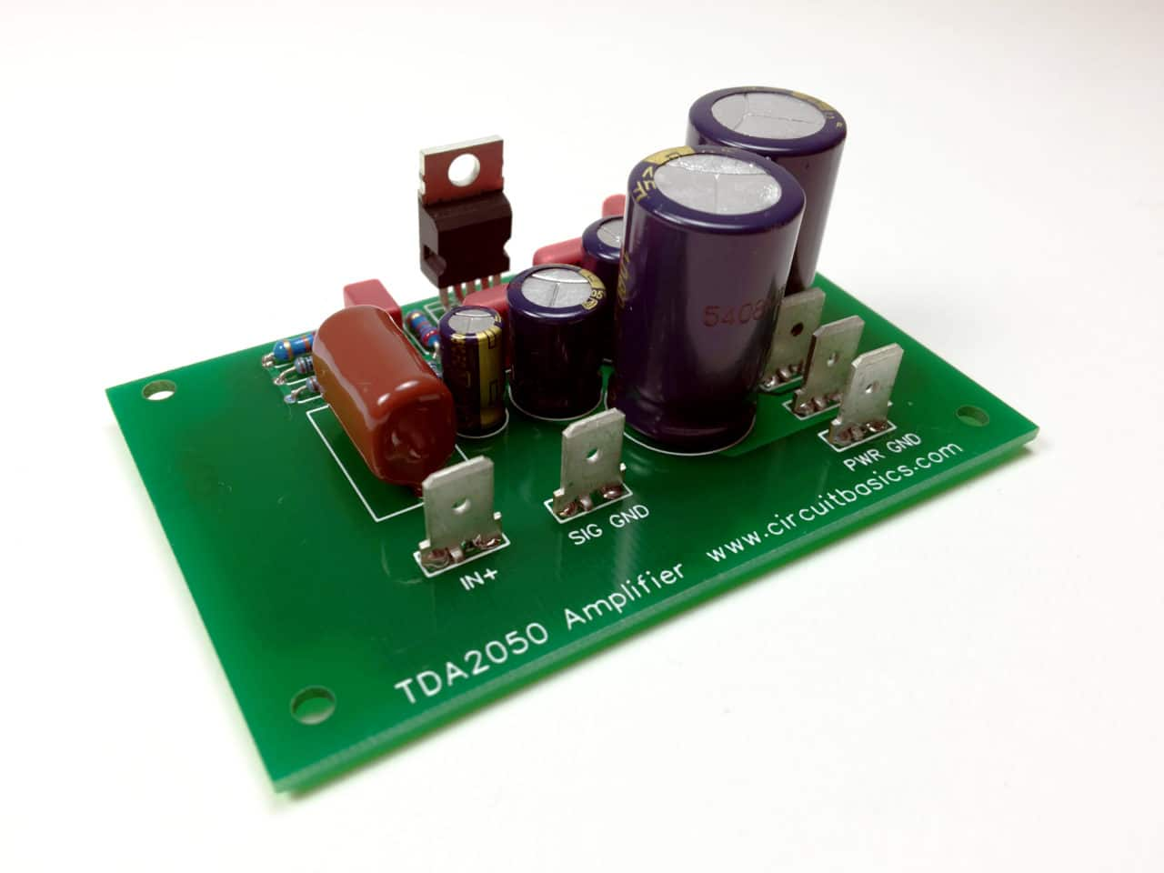 hight resolution of how to design and build an amplifier with the tda2050