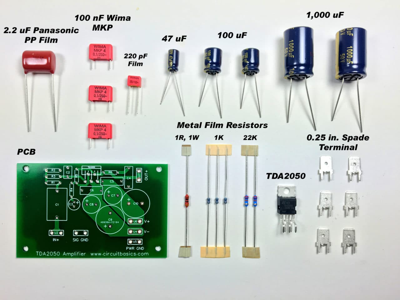 10 Watt Power Amplifier Amplifier Circuit Design