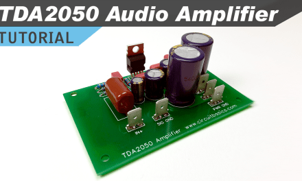 [VIDEO] How to Design and Build a TDA2050 Stereo Amplifier