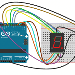 Digital Temperature Controller Circuit Diagram Thermostat Wiring Color How To Set Up 7 Segment Displays On The Arduino Basics Then Upload This Program