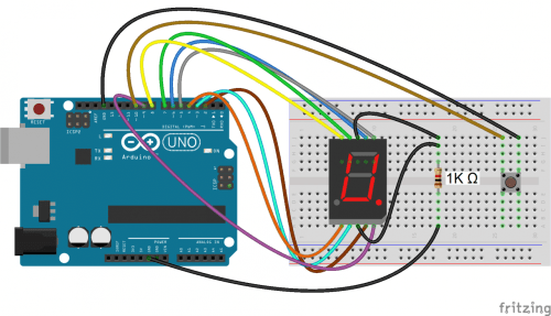 small resolution of how to set up 7 segment displays on the arduino circuit basics led 7 segment display pinout on 7 segment display diagram