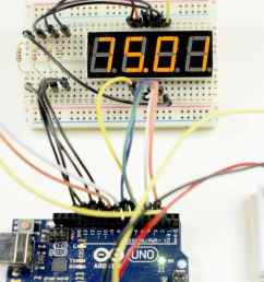 how to set up 7 segment displays on the arduino [ 1280 x 640 Pixel ]