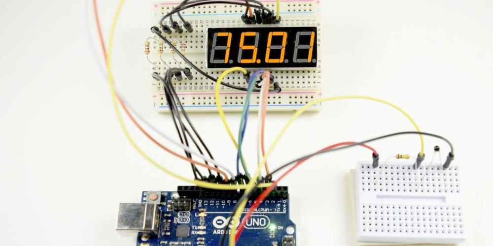 medium resolution of how to set up 7 segment displays on the arduino