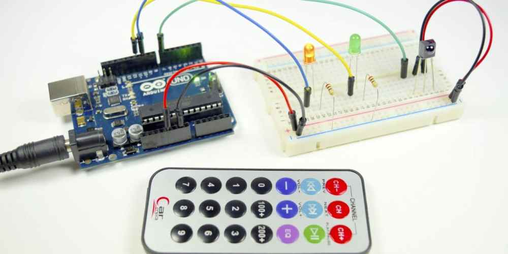 medium resolution of how to set up an ir remote and receiver on an arduino