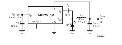 LM2675M-ADJ Integrated Circuit Chip SIMPLE SWITCHER Power
