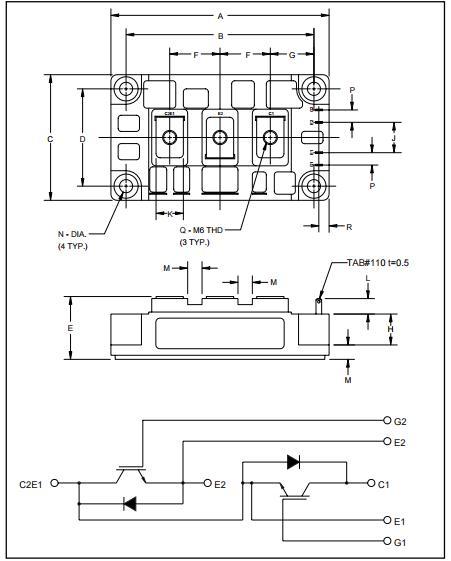 CM200DY-24H Mosfet Power Module thyristor switching Lgbt