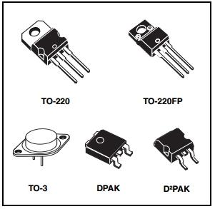 L7815CP Power Mosfet module Three terminal Positive