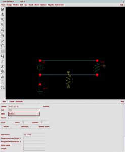 Edit the cell view some more (for example, add another resistor)