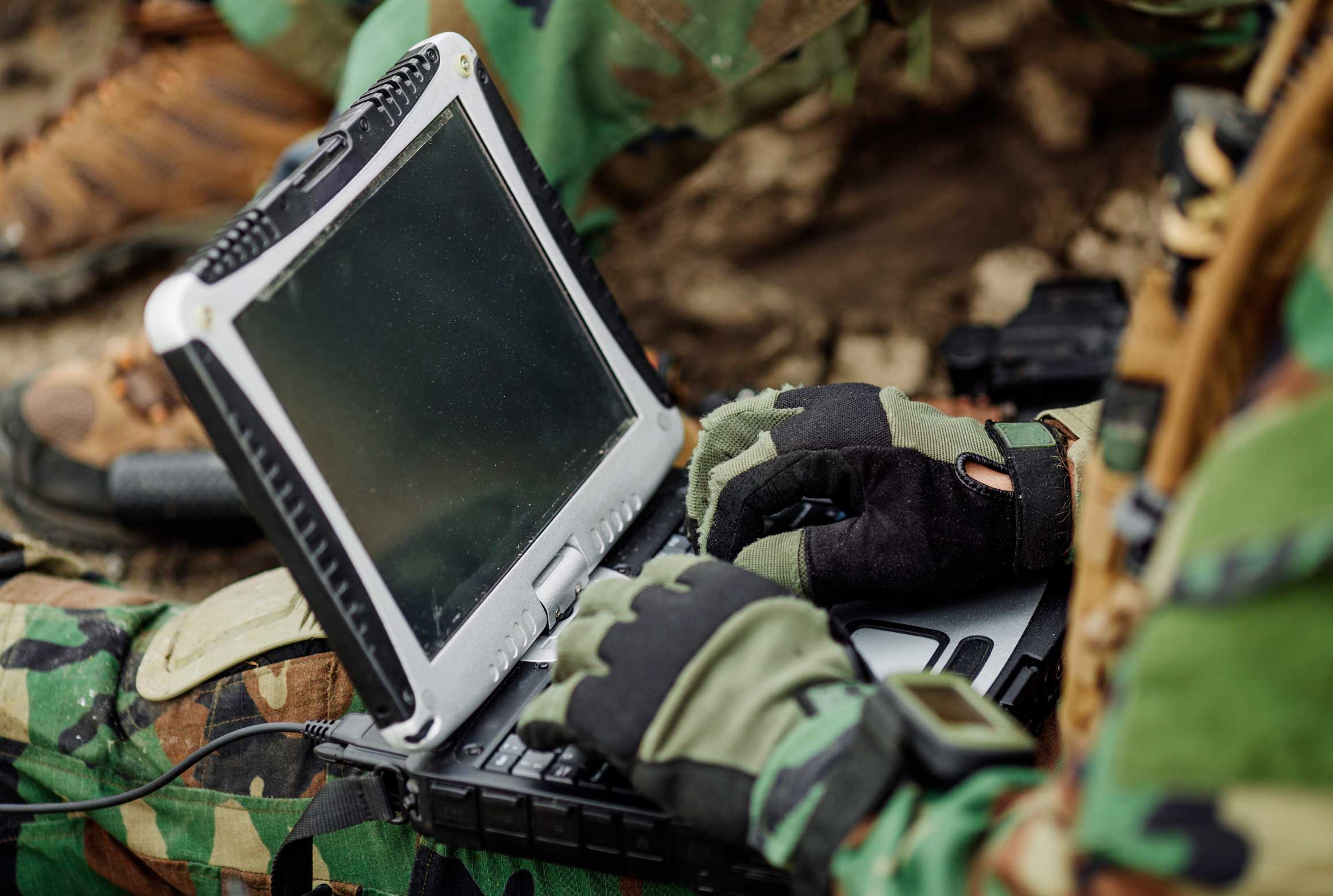 rugged laptop used by military