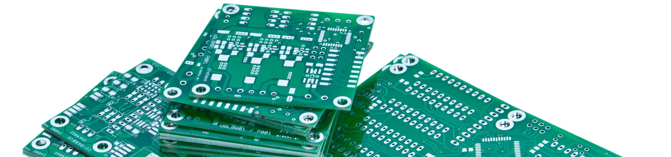 stack of printed circuit boards