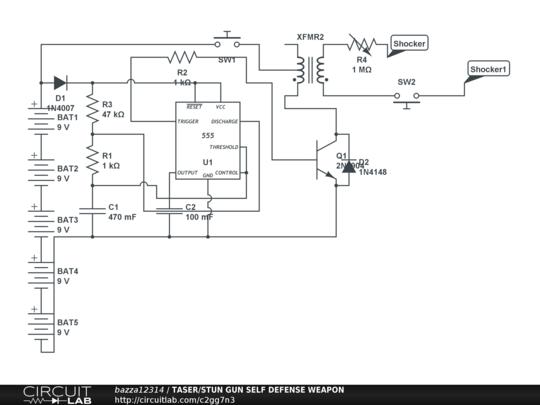 related with 1101 stun gun wiring diagram